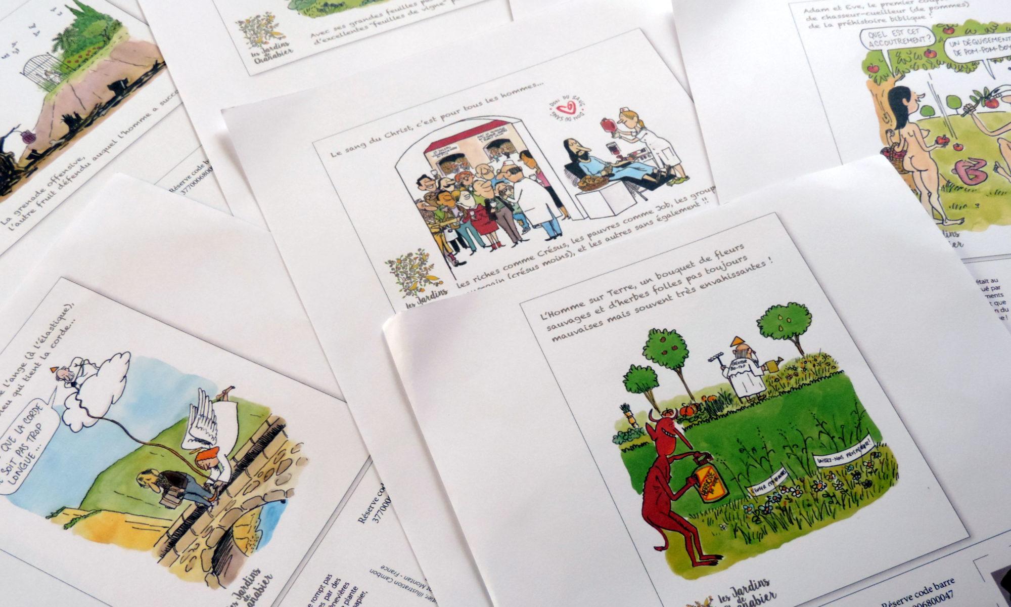 dessins approuvés cartes humoristiques