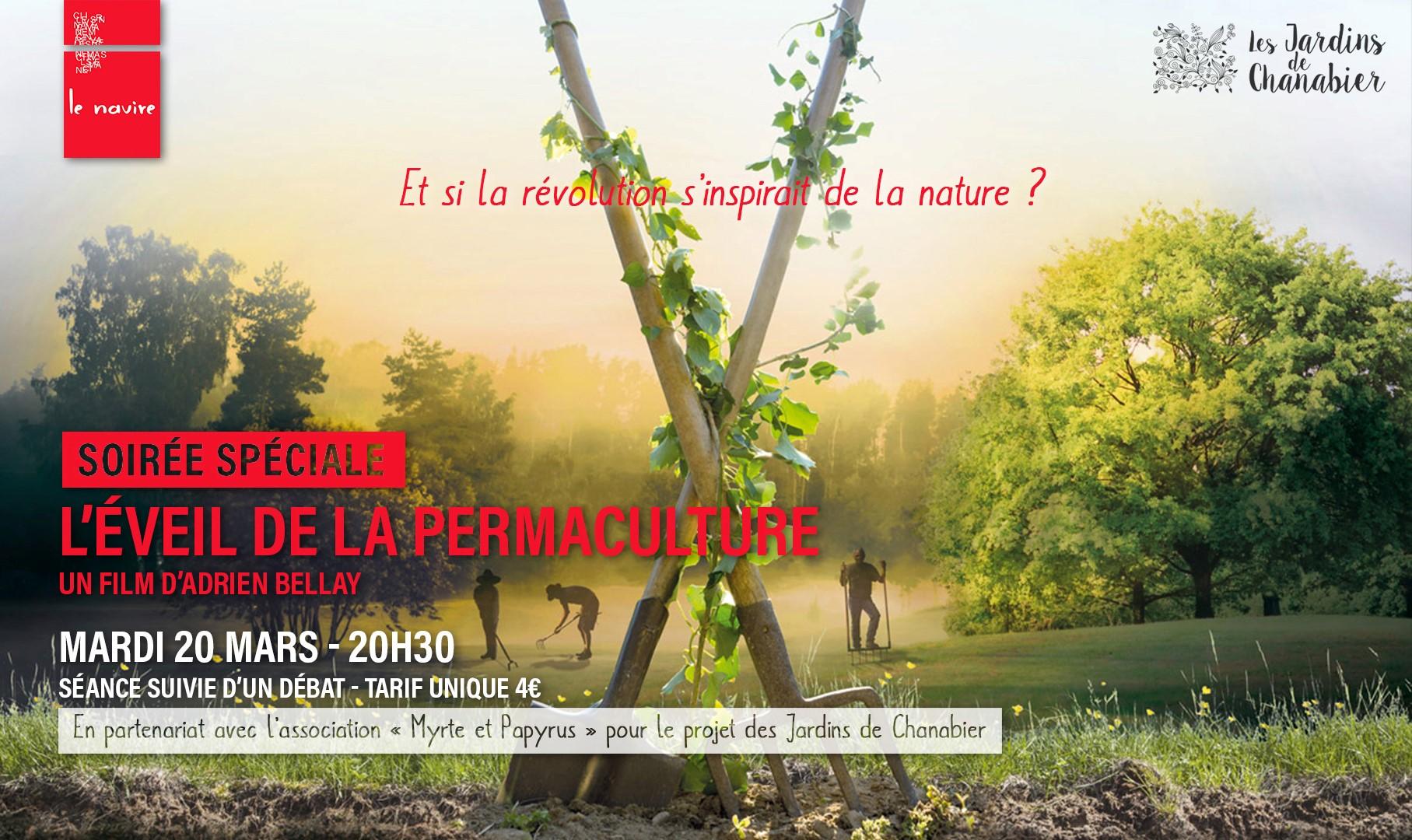 Ciné débat avec le film L'éveil à la permaculture