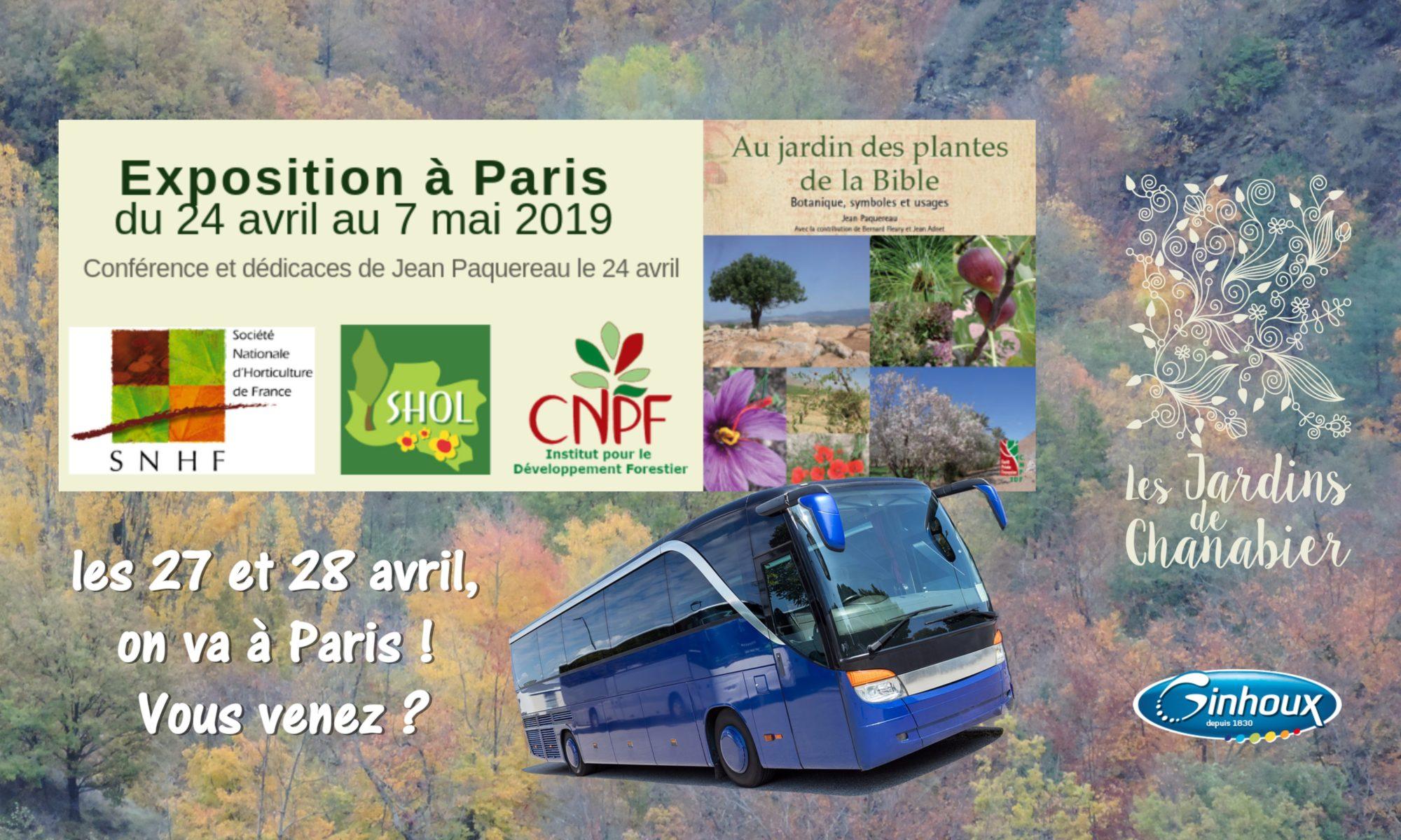 Voyage Exposition Paris