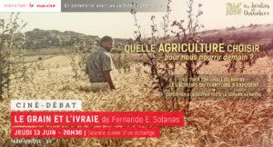 Film le Grain et l'Ivraie ciné-débat Aubenas Ardèche